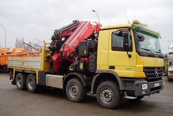 Truck Mounted Crane Truck