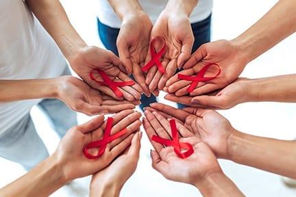 AIDS awareness concept.